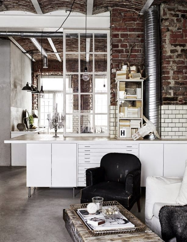 my scandinavian home Interiors Pinterest Industrial style