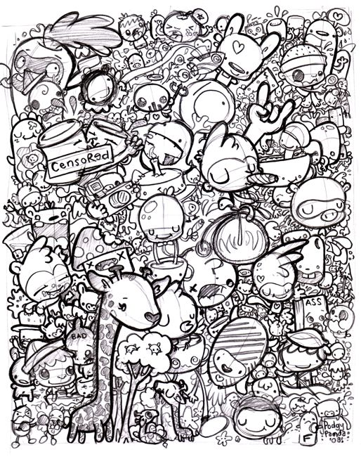 coloring pages of random stuff - photo#15