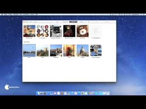 Fotos für Mac OS X Grundlagen für Einsteiger YouTube