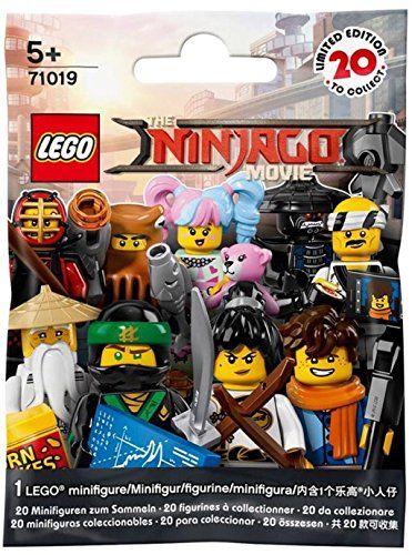 Lego Ninjago Movie Minifigure Blind Bag Pack 71019 Lego Ninjago Movie Lego Ninjago Lego Minifigures