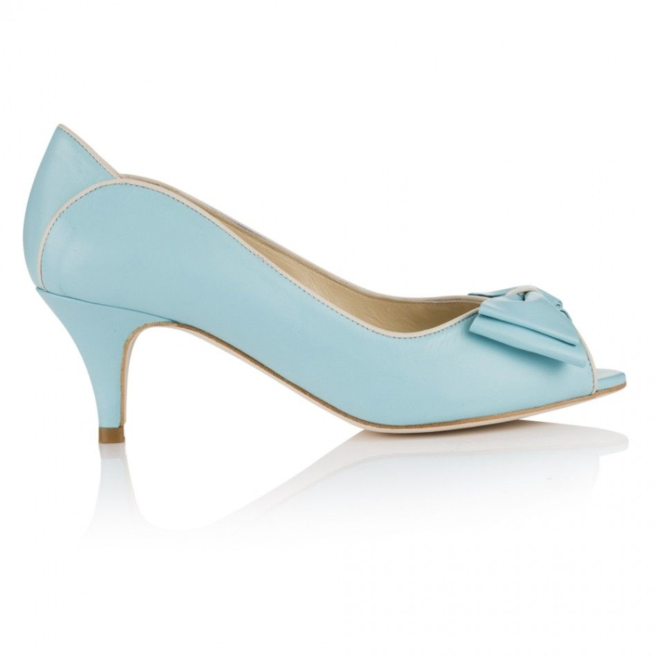 Sky Blue Wedding Shoes Lulu Are A Truly Fifties Inspired P Toe Would Add Touch Of Fun To Any Outfit Crafted From Ery Soft Matt Finish Leather