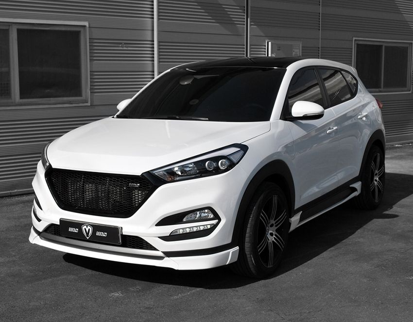 M&S Front Lip for Hyundai Tucson TL 2016 Arabalar ve