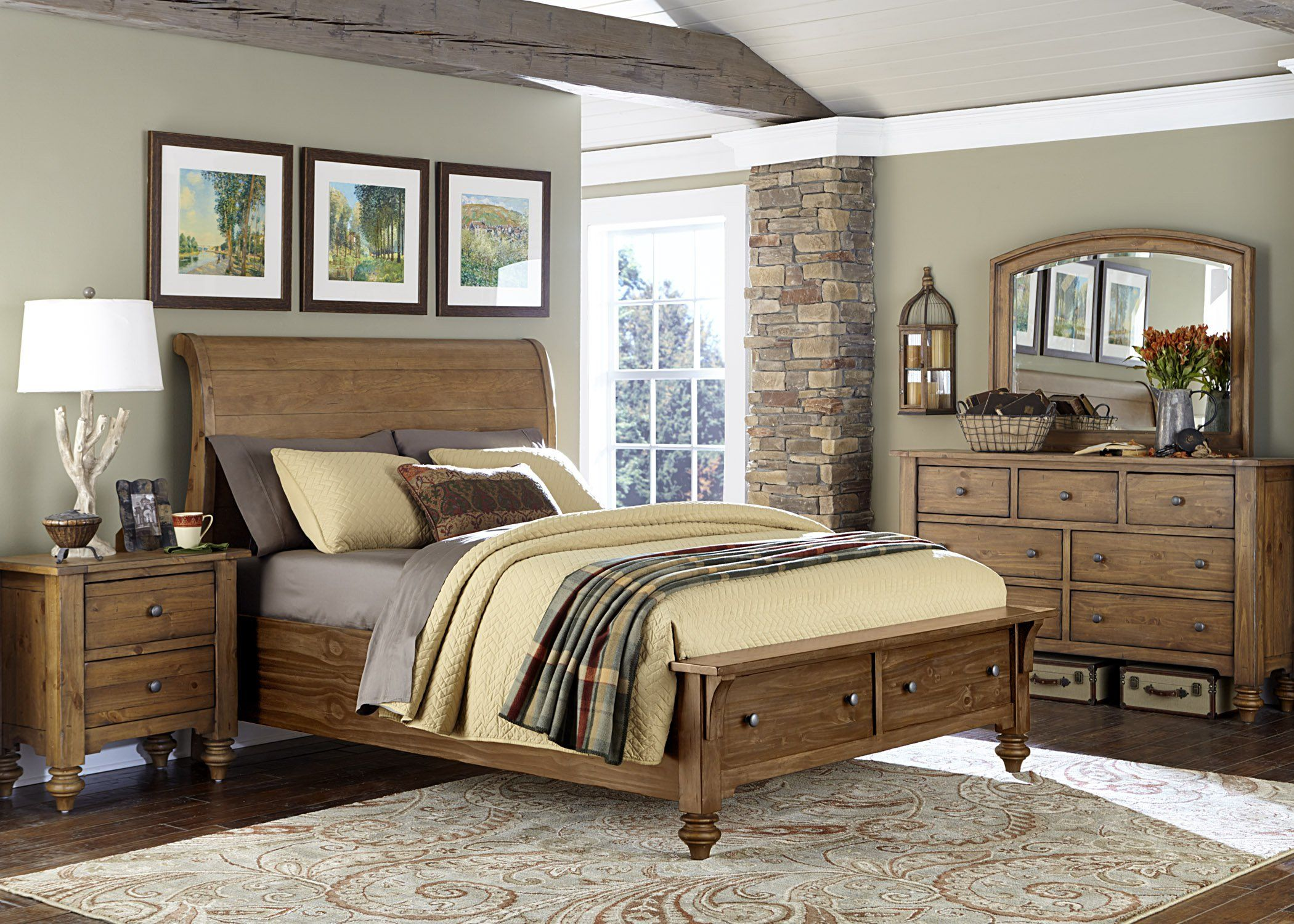 Liberty Furniture Industries Southern Pines II Collection Storage - Liberty furniture industries bedroom sets