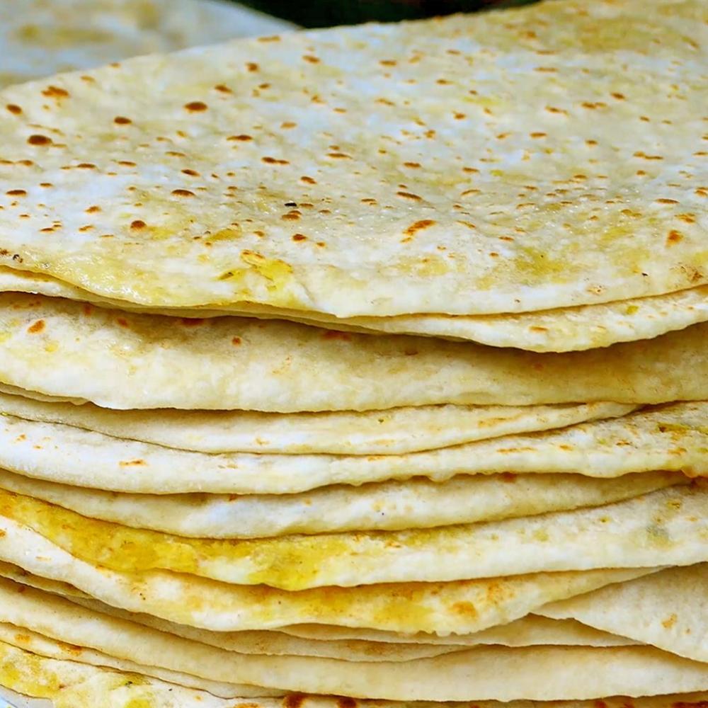 Dhalpuri Roti Recipe by Reshmi of Taste Of Trini in 2020   Roti recipe. Recipes. Food processor recipes
