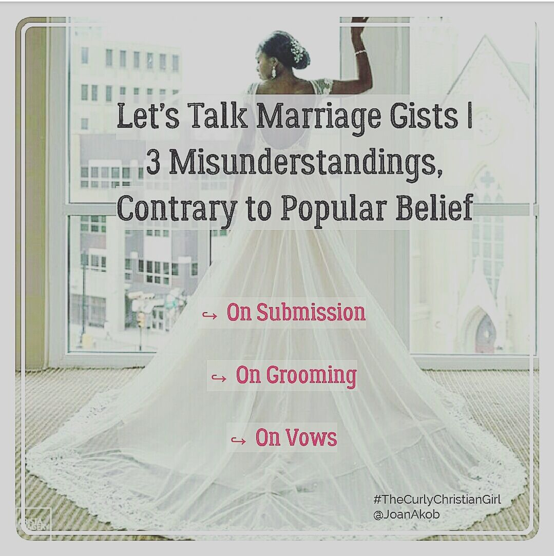 Let S Talk Marriage Gists