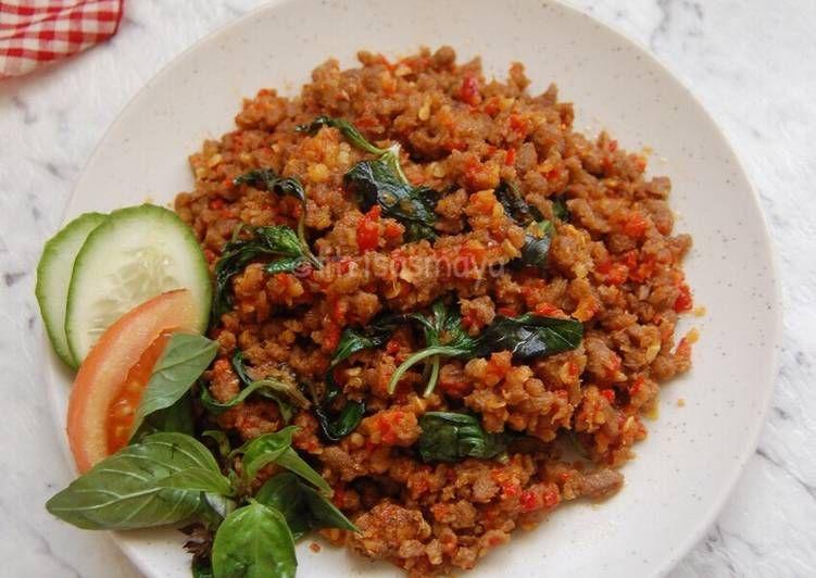 Resep Sambal Oncom Kemangi Oleh Fitri Sasmaya Resep Kemangi Resep Makanan Resep