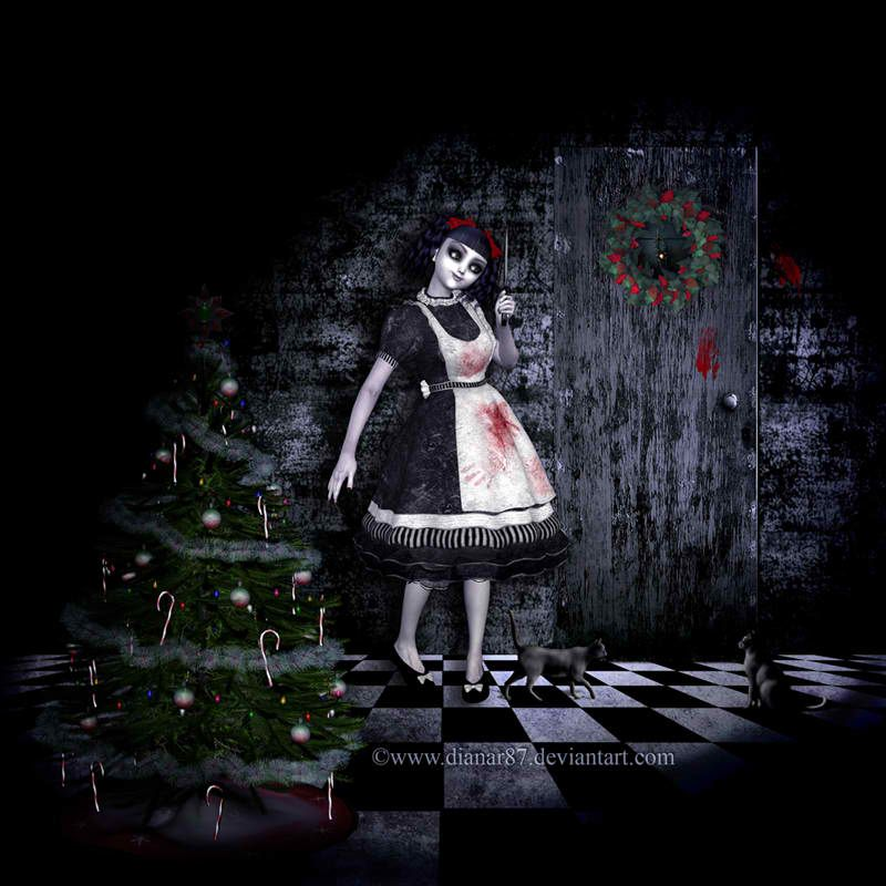 Dark Christmas.Pin On Gothic Christmas