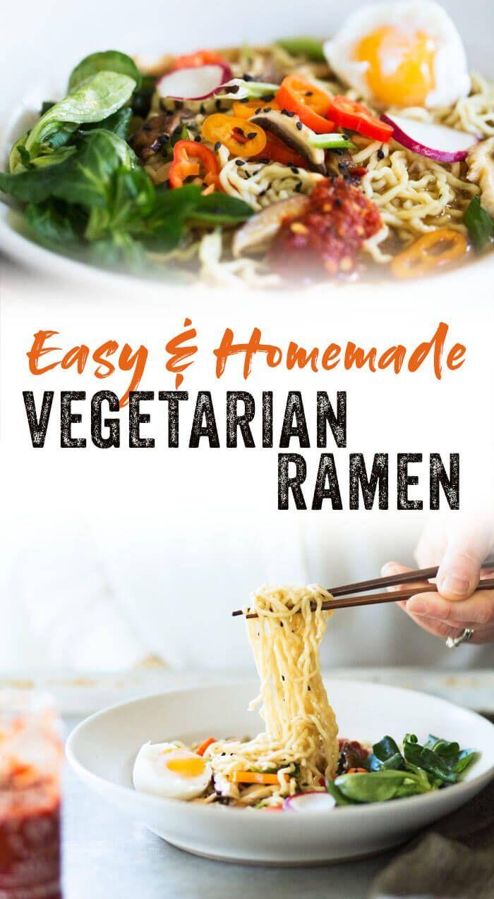 Simple Vegetarian Ramen images