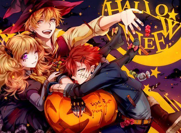 1000x731 976kb Anime Halloween Anime Cute Anime Boy