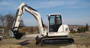 Terex Tc75 Excavator Workshop Repair Service Pdf Manual