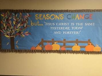 Image Result For Fall Church Bulletin Boards Christian Halloween
