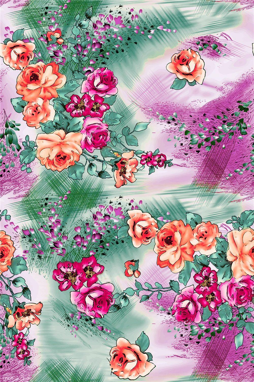 PAINTING_Flower Design_Digital Print_2   Blisse Design Studio ... for Flower Pattern Animated  197uhy