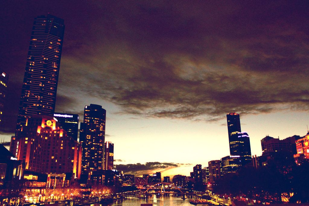Tumblr City Lights Themes download