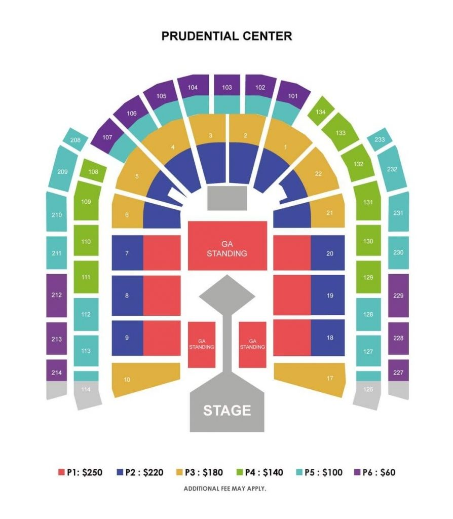 Prudential Seating Chart Di 2020