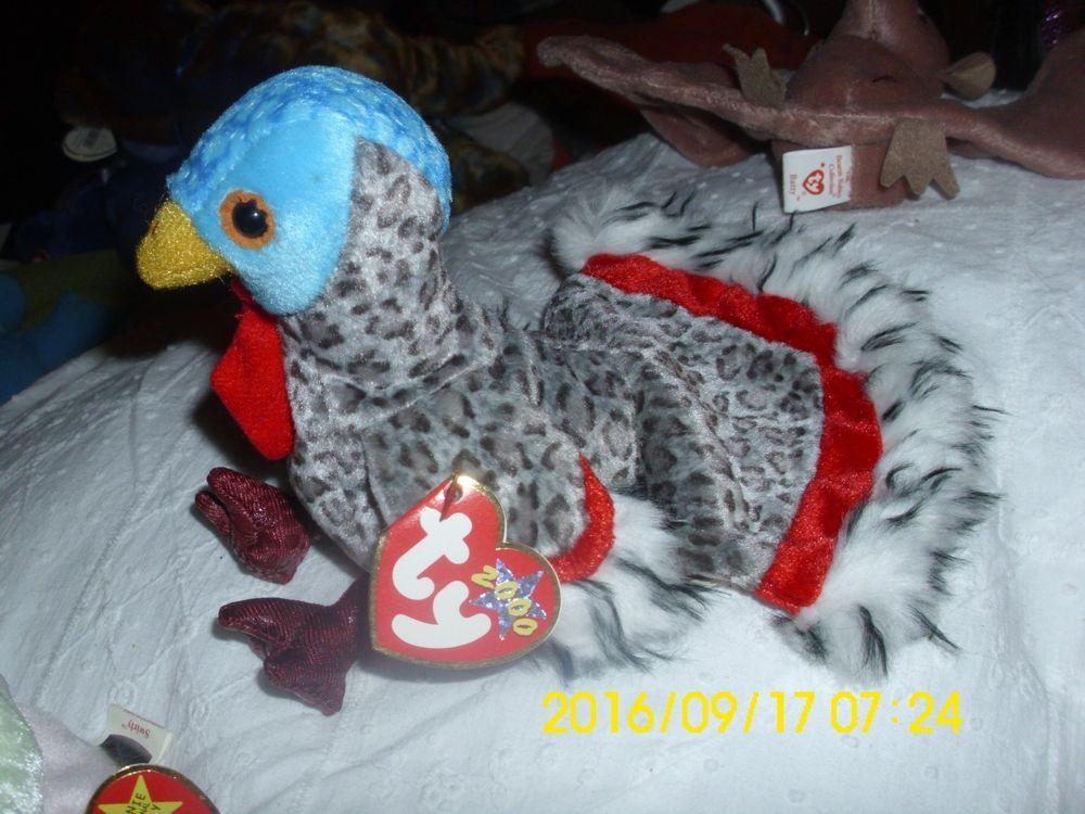 bb93de8749d TY BEANIE BABY RETIRED ORIGINAL TURKEY