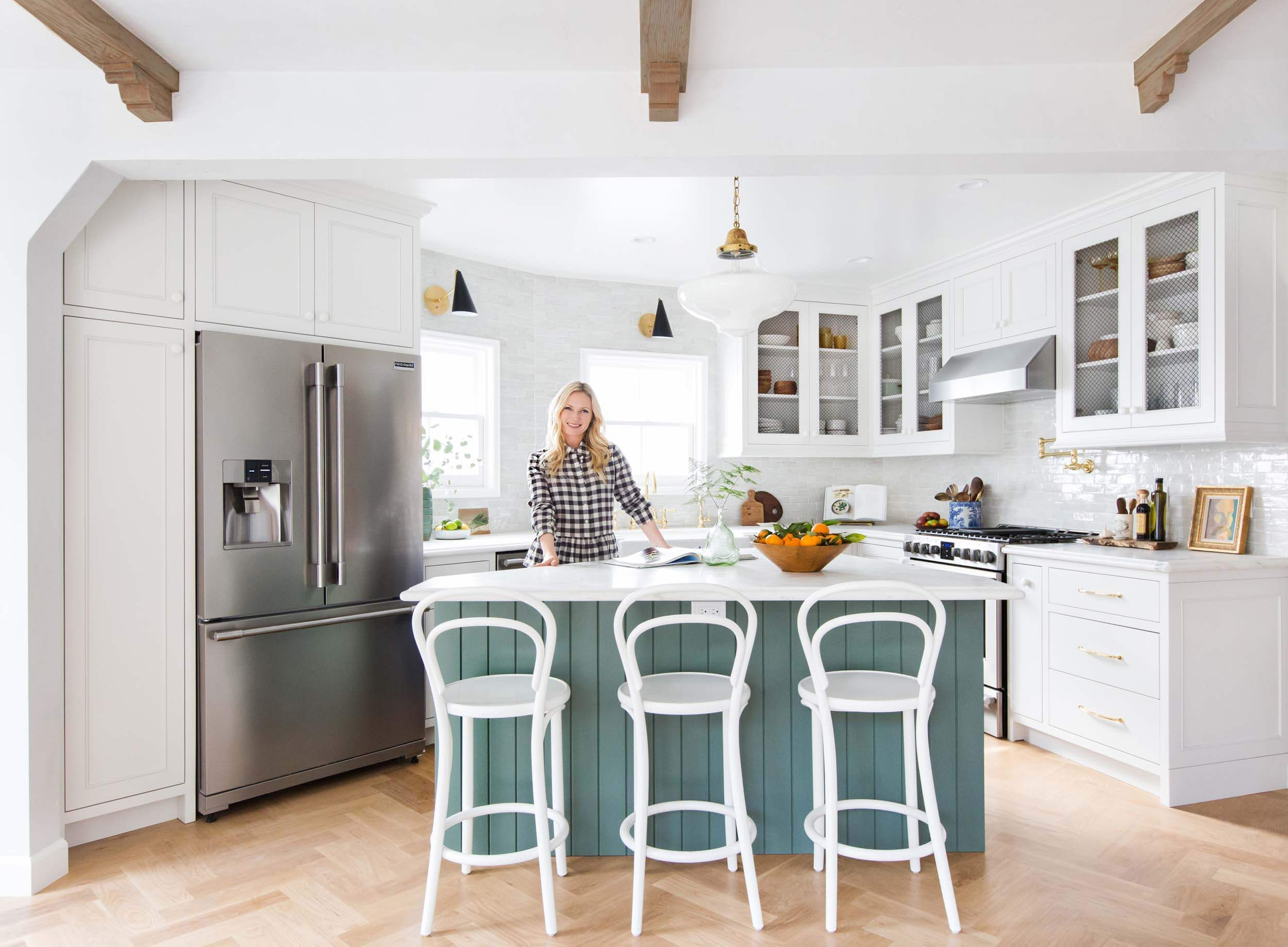 Our Modern English Country Kitchen Emily Henderson Kitchen Remodel Design English Country Kitchens Country Kitchen