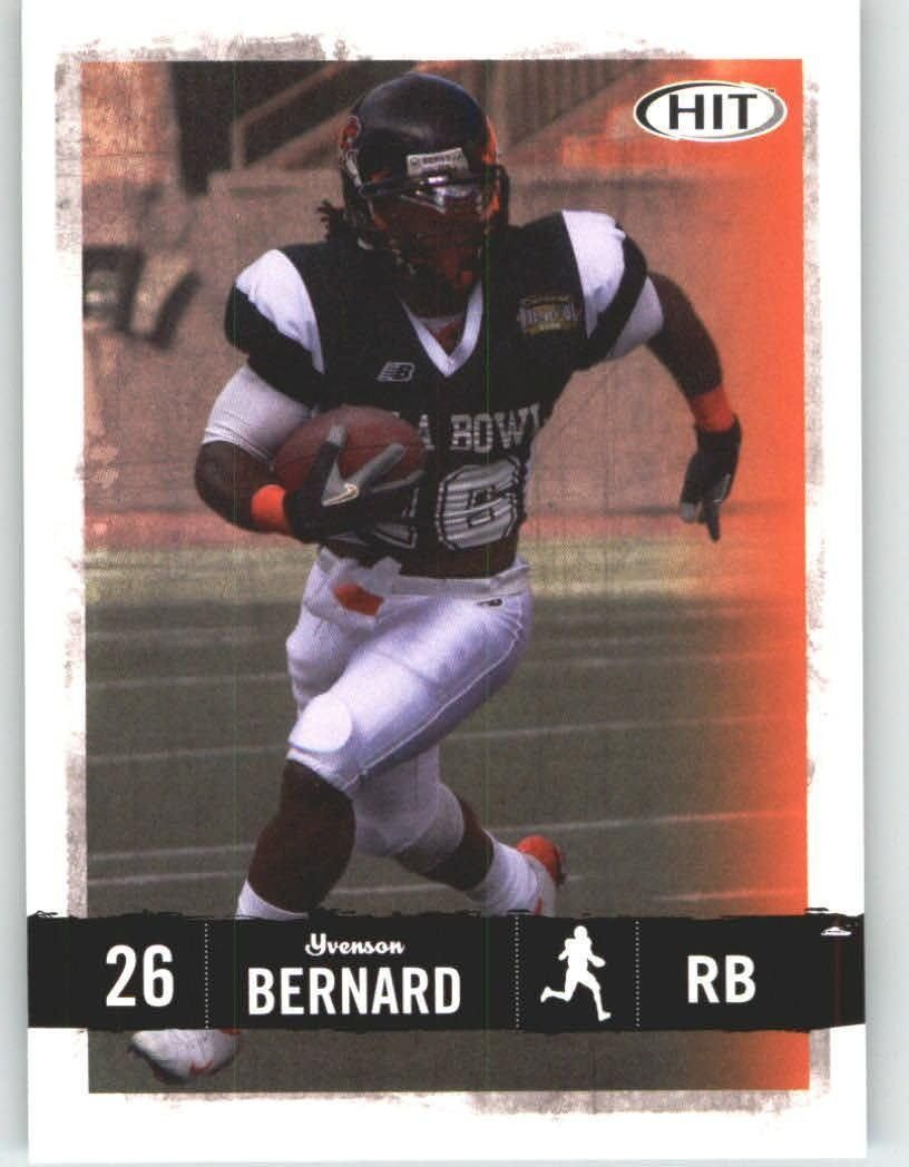 2008 Sage HIT 26 Yvenson Bernard St. Louis Rams (RC