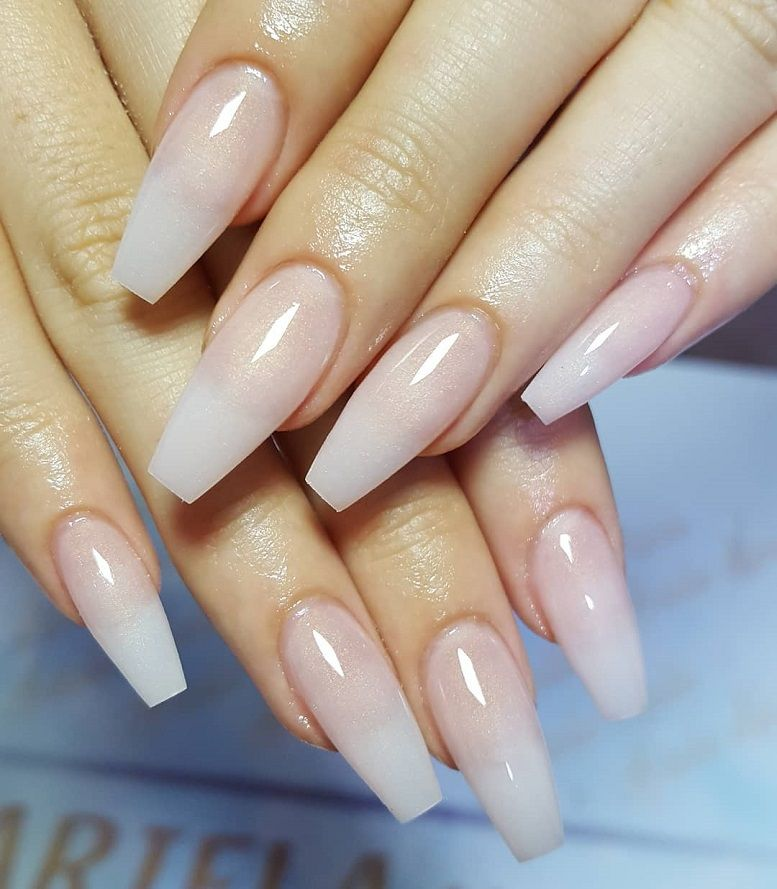 Beautiful Neutral Nail Art By Aariela Nails