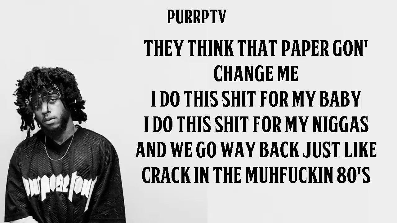 6lack Never Know Lyrics Attitude Like Lyrics Music Songs