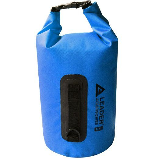Amazon.com  Leader Accessories New Heavy Duty Vinyl Waterproof Dry Bag for  Boating Kayaking d0d1285ecf4d5