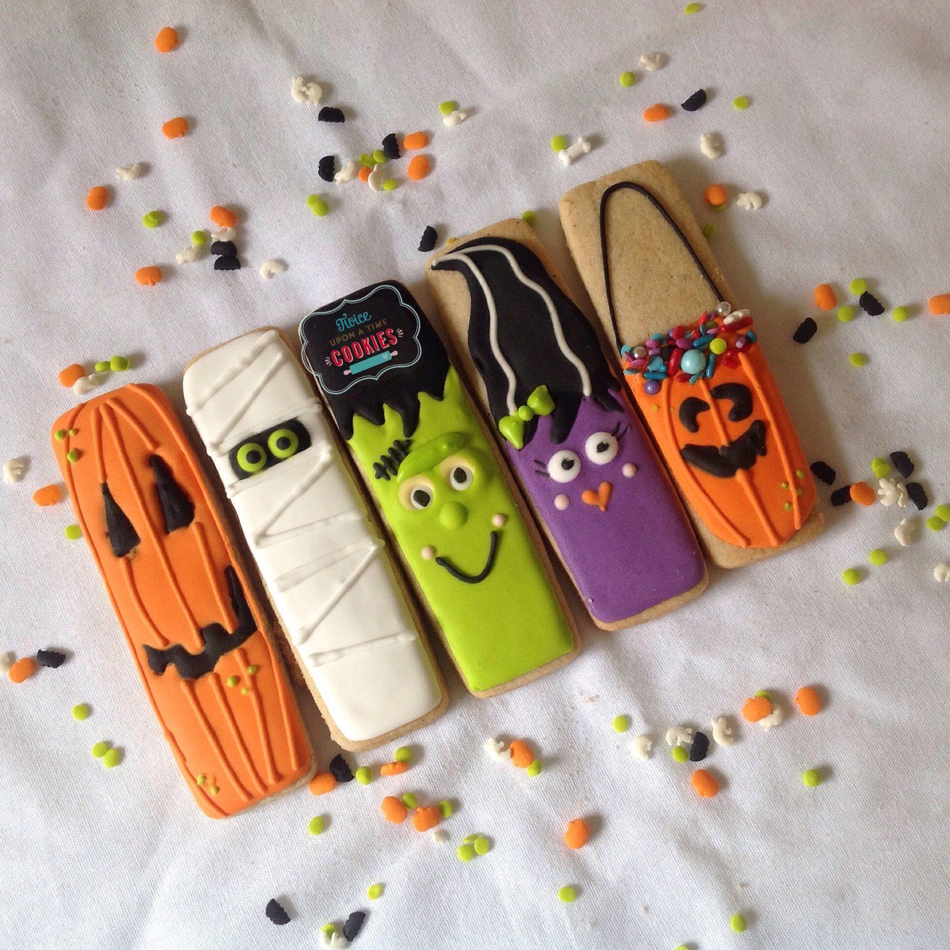 Cookie Sticks for Halloween. Holloween cookies