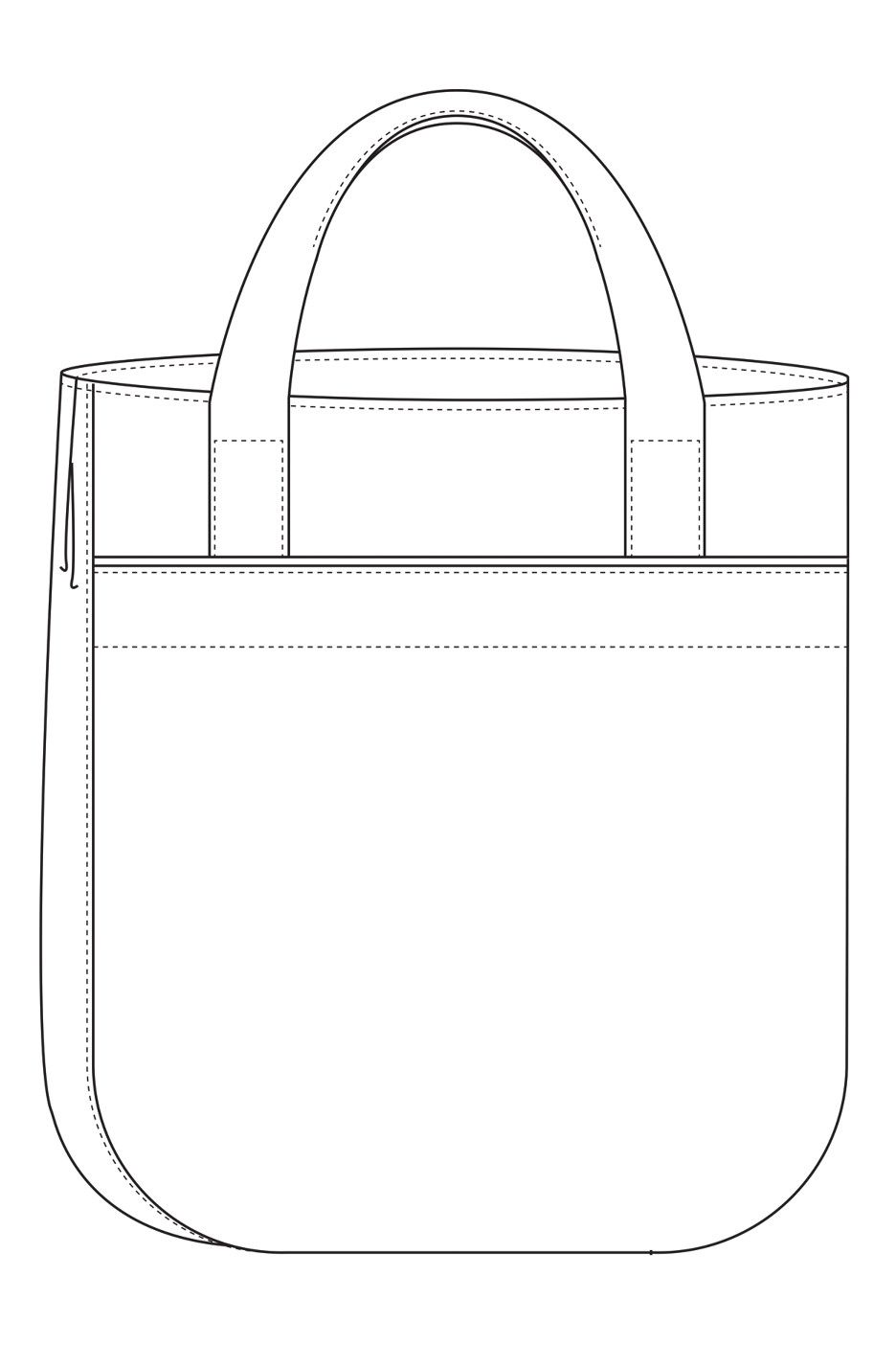 The Super Tote sewing pattern by Noodlehead is a roomy