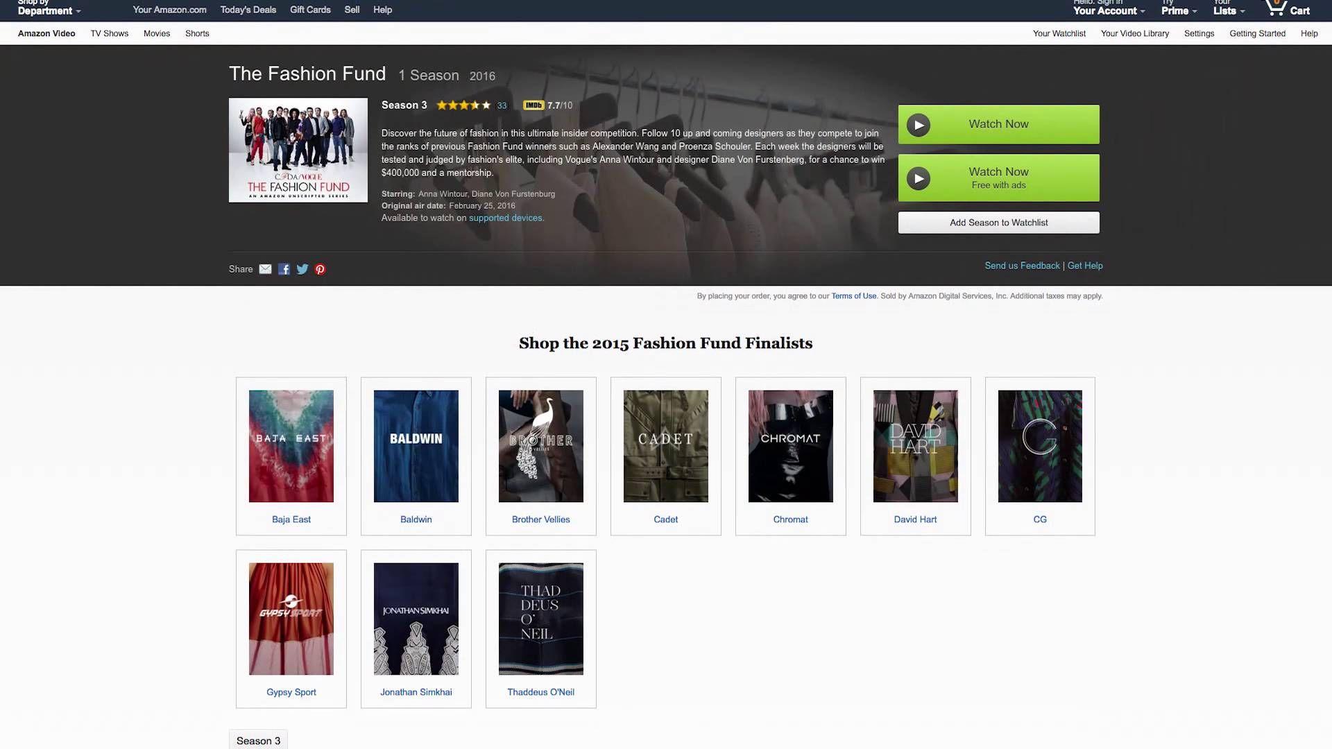 Amazon Disrupting Fashion