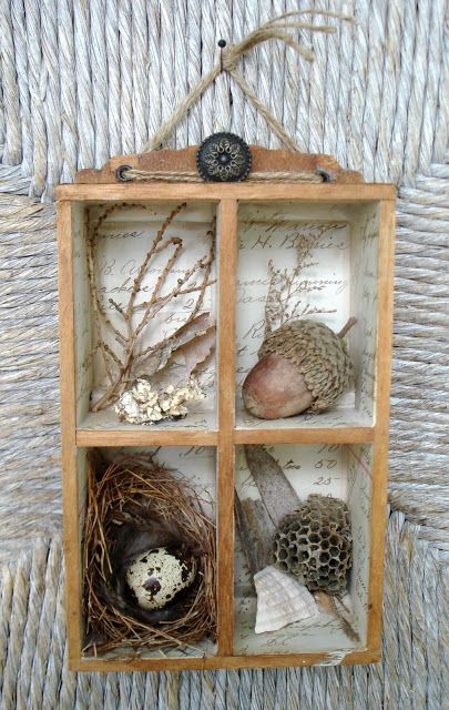 nature shadow box i wonder where my bird nest is packed barns farms country settings. Black Bedroom Furniture Sets. Home Design Ideas
