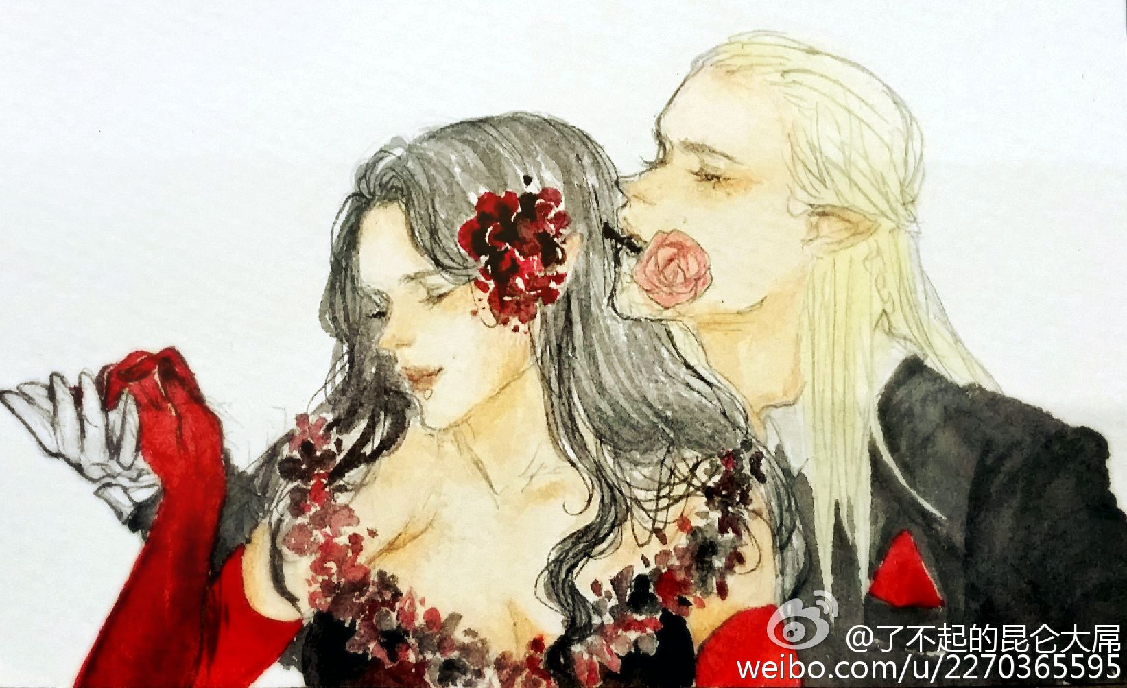 Арвен и Леголас. Танго