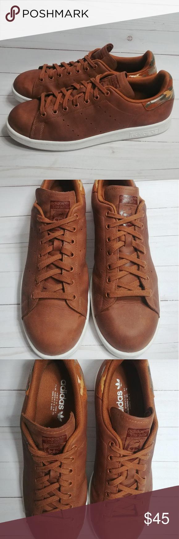 papi Madurar fiesta  Adidas Original Leather Stan Smith Camo Adidas Stan Smith Shoes Mens size  12 Genuine Leather Upp…   Adidas shoes stan smith, Stan smith shoes, Shoes  sneakers adidas