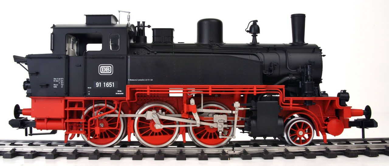steam engine train side view the model trains   Trains in ... Steam Train Side View