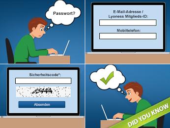 Lyoness Austria – Google+  Wusstet ihr schon? Ihr habt die Zugangsdaten eures Lyoness Accounts vergessen?  Dann fordert euren Benutzernamen & Passwort schnell und einfach per SMS hier an: http://bit.ly/GplusLyo-AT-Passwort_vergessen