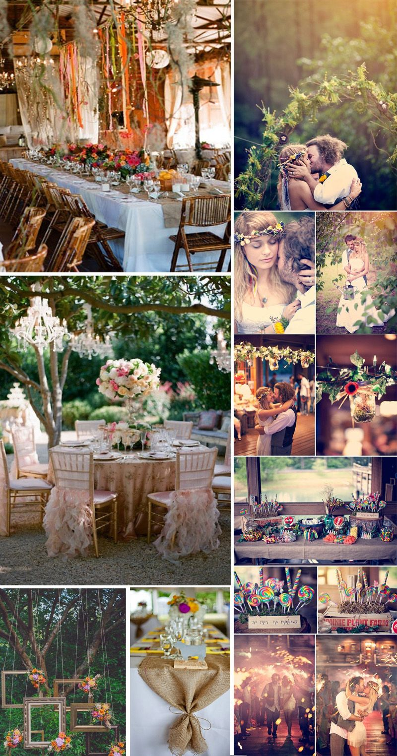 Bohemian Wedding Decor Ideas Inspiration