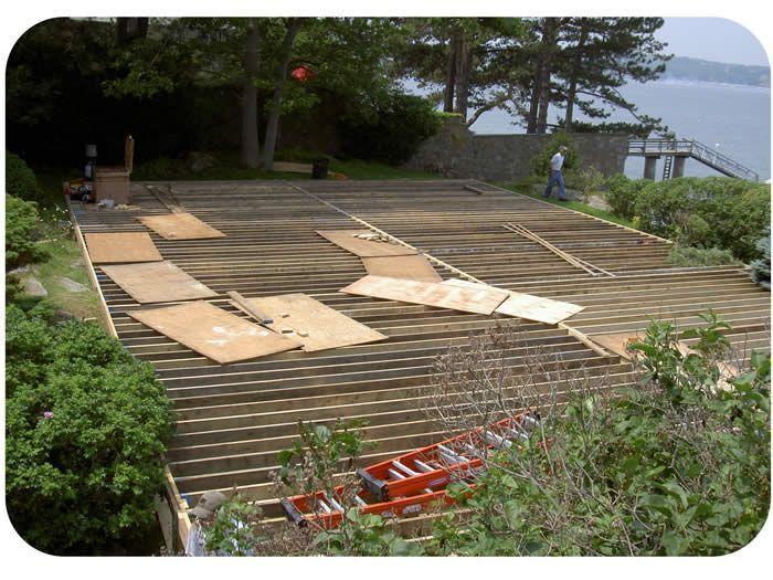 Flooring Over Unlevel Ground   Backyard patio, Backyard ... on Unlevel Backyard Ideas id=30070