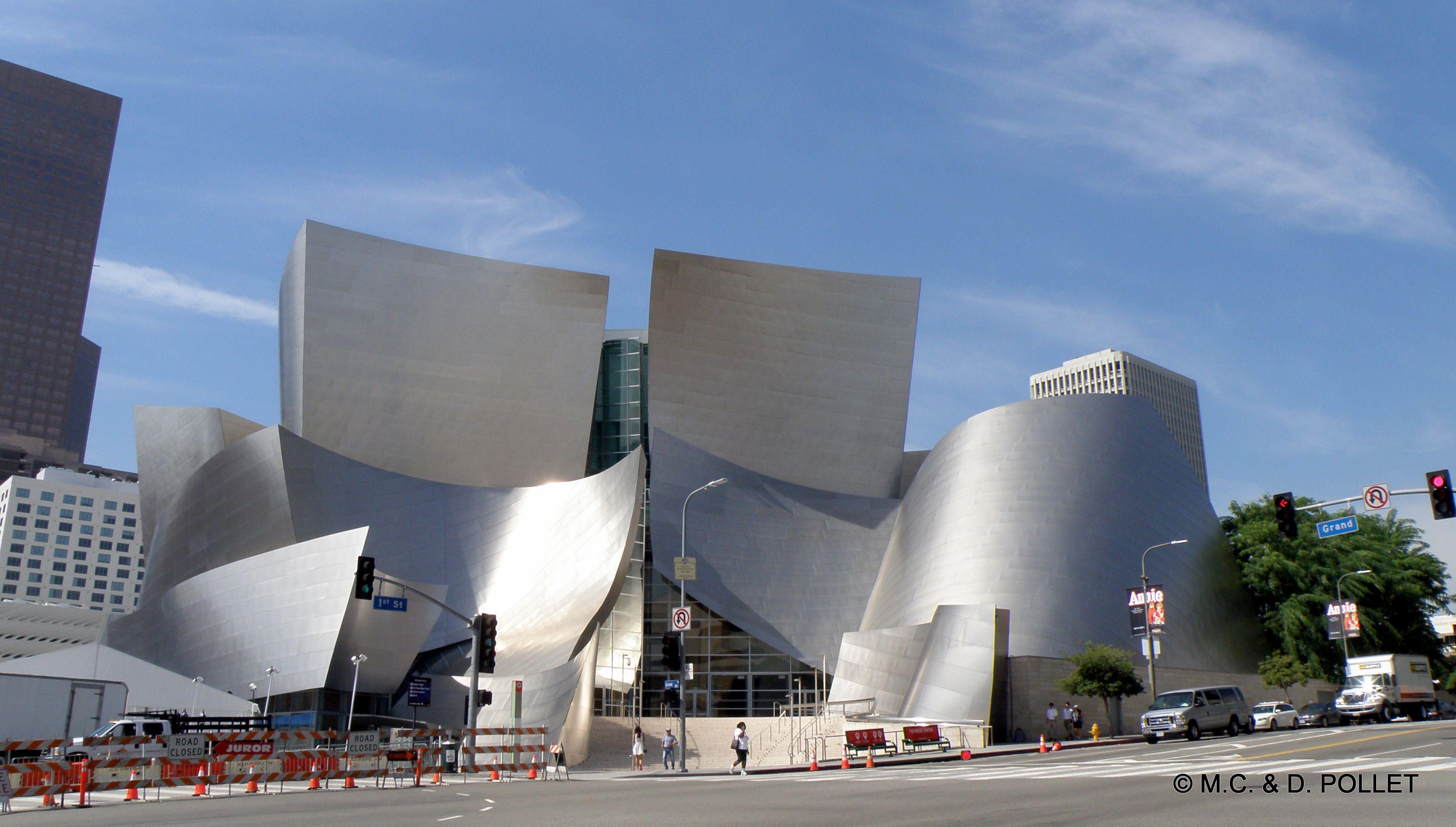2015 Disney Hall, siège de l'orchestre philharmonique de Los Angeles