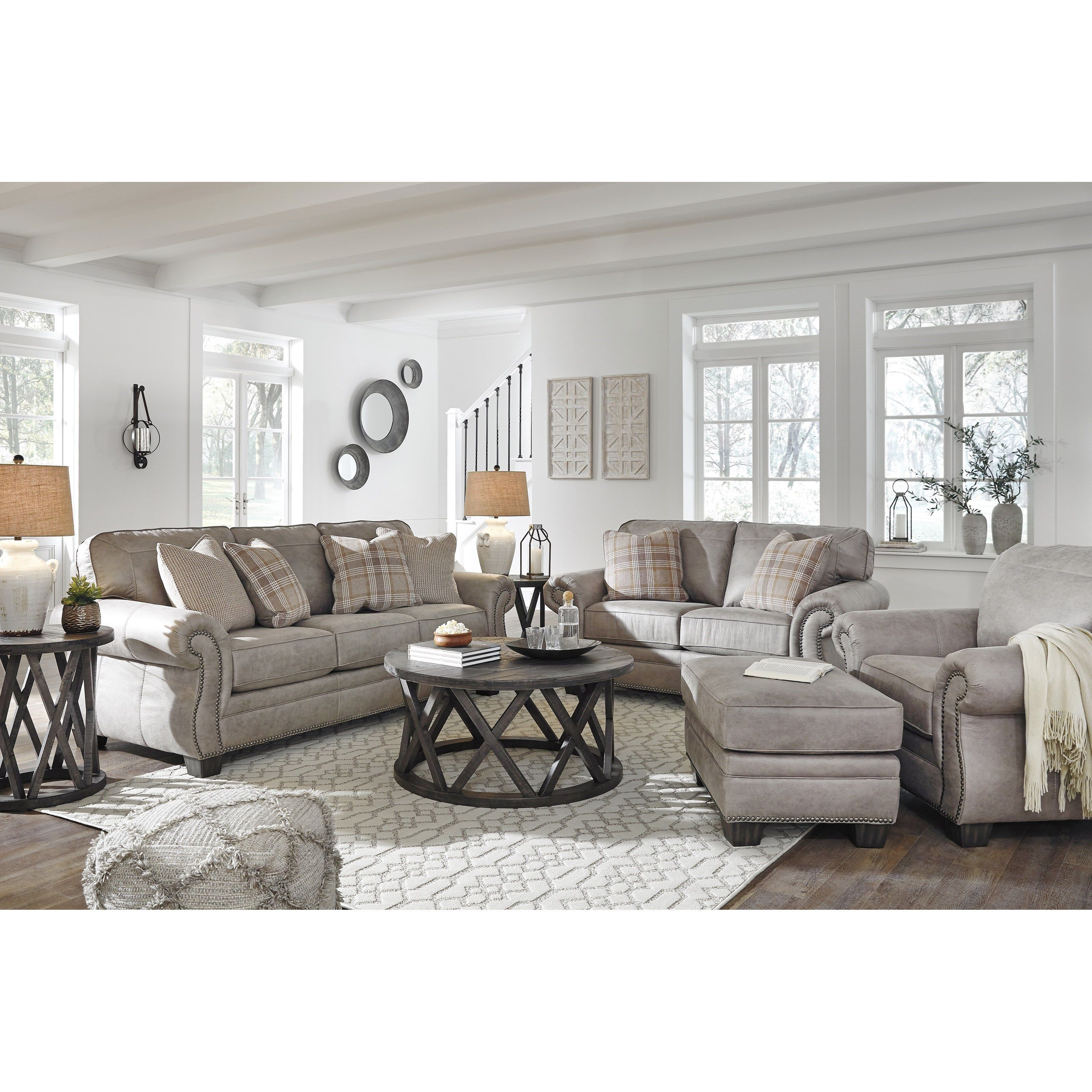 Olsberg Stationary Living Room Group By Signature Design By Ashley