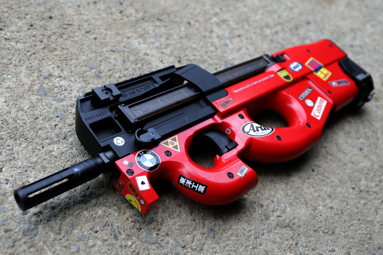 Akira Skin P90 Guns Pinterest Airsoft And Wiring Diagram In Addition V2 Gearbox On