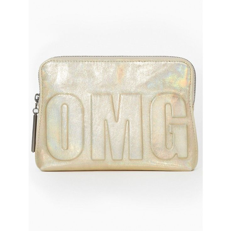 OMG Silver Foil 31 Second Pouch By 3.1 Phillip Lim