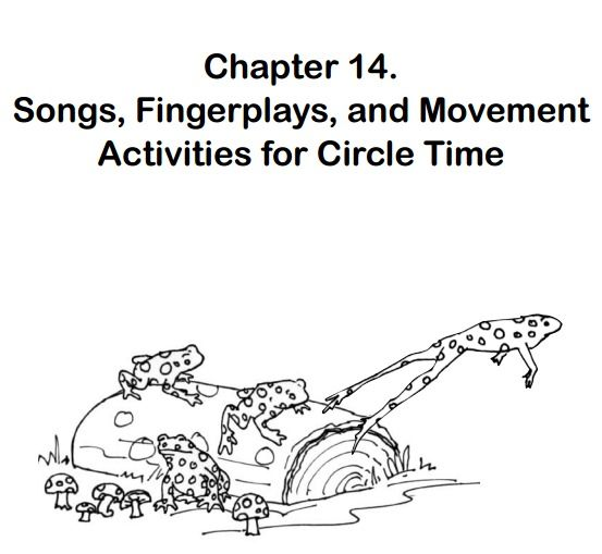 Songs, Fingerplays and Movement Activities for Circle Time