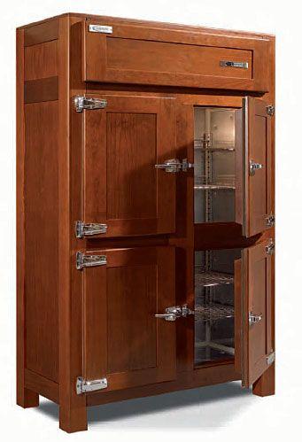 mueble vinos retro material madera de pino armario refrigerado de estilo retro fabricado