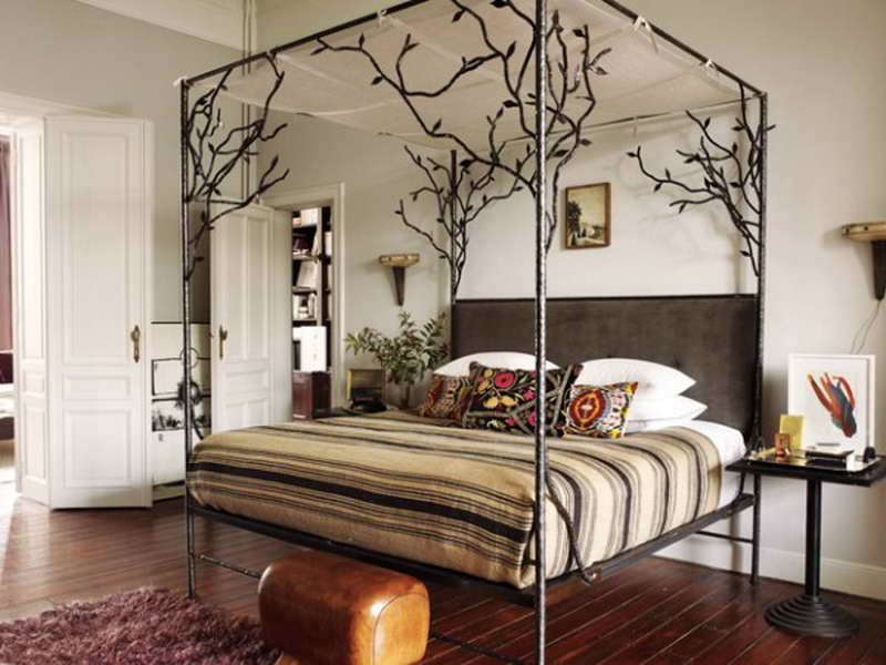 Cool Metal Bed Frames metal frame canopy bed yryezpwh | eagle nest | pinterest | canopy
