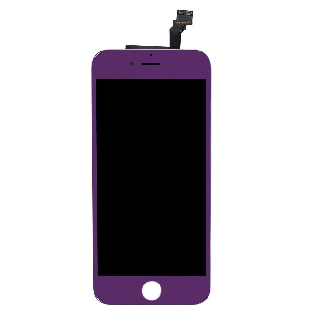 size 40 fb9bf 5dca3 Purple iPhone 6 Touch Digitizer LCD Screen Replacement Assembly+ ...