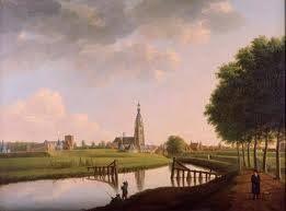 Breda Anno 1826. Een schilderij van Huysmans. Te vinden in het Brabants Museum in Den Bosch