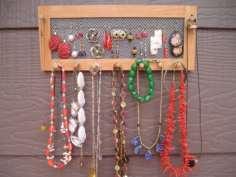 handmade jewelry holder Jewelry Storage Pinterest Jewellery