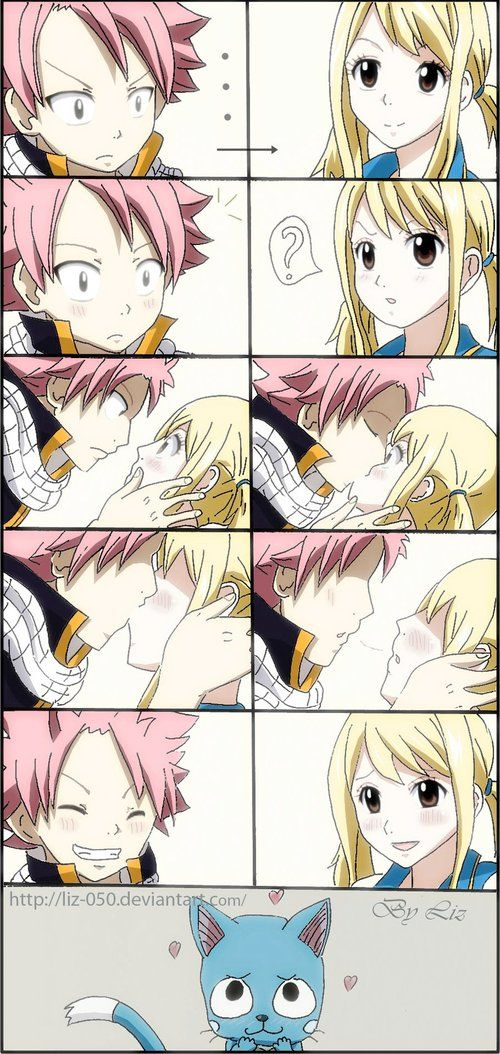 Fairy Tail Natsu And Lucy Kiss Gif Recherche Google Fairy Tail Anime Fairy Tail Natsu And Lucy Fairy Tail Love