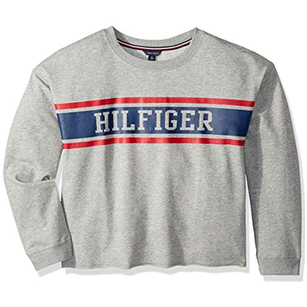 Tommy Hilfiger Girls Pullover Fashion Hoodie