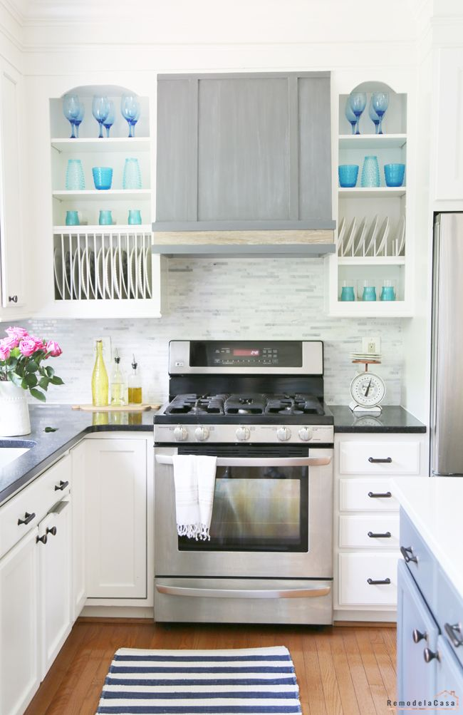 colorful summer home tour plate racks diy kitchen ideas and white dishes