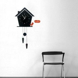 Cuckoo Wall Clock Decal   ART: Clocks Ideas   Pinterest   Clocks ...