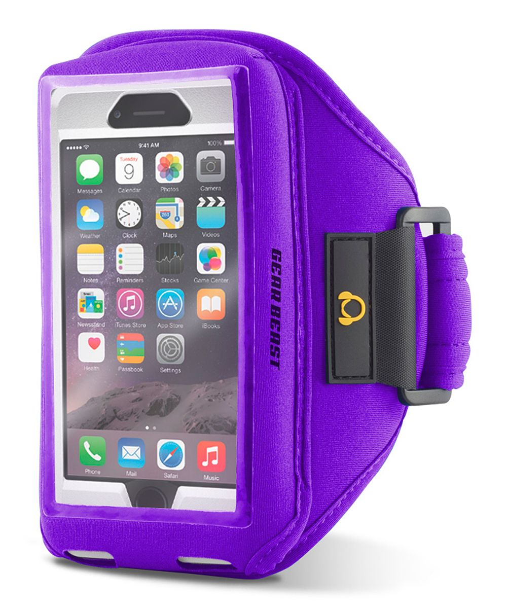 Gear Beast Purple Case Compatible Sports Armband for