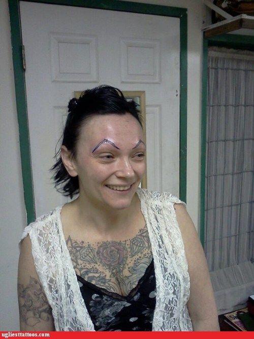 Eyebrow Lady Just Go With It - Eyebrow Ideas